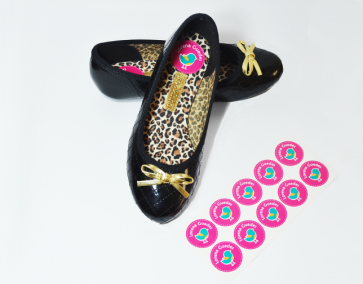 Etiqueta Redonda para Sapatos