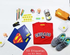 Etiquetas Personalizadas - Kit Mini